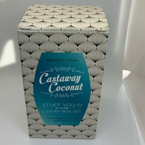Perfectly Posh Luxurious Gift set Castaway Coconut